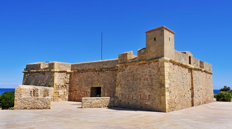 Sant Jordi de Alfama Fortress in Ametlla de Mar