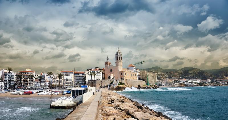 Sitges Coastline Catalonia
