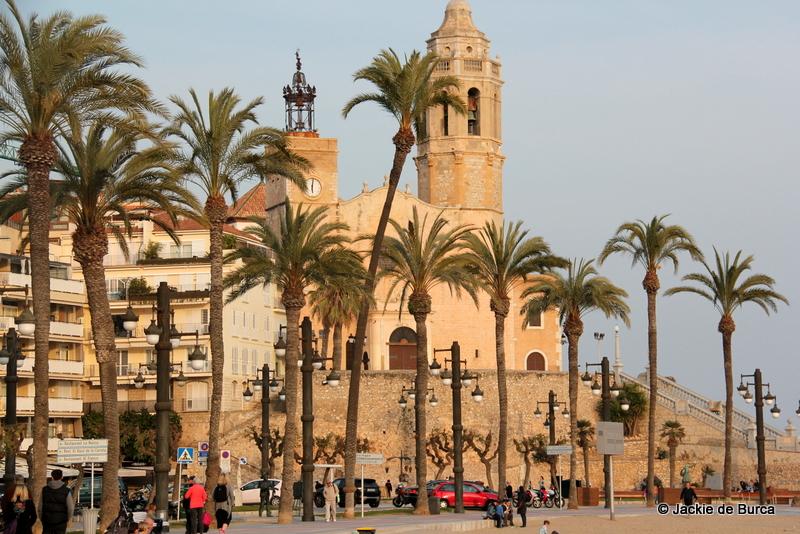 Sitges church Iglesia de Sant Bartomeu i Santa Tecla
