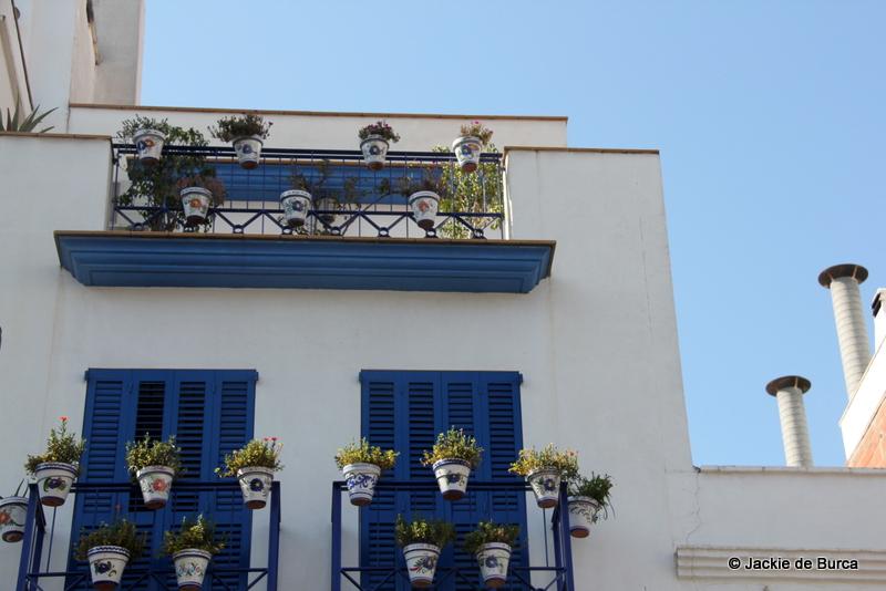 Sitges pretty balcony