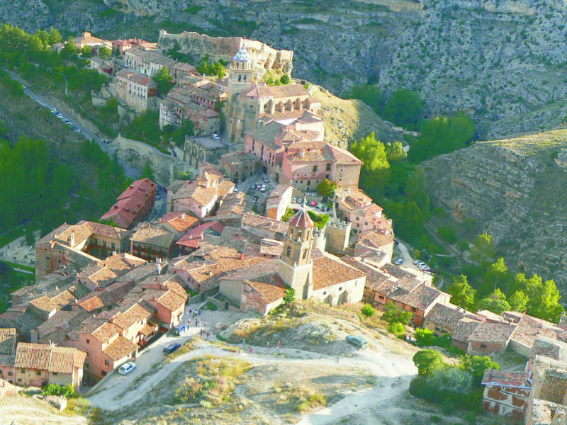 Spain most beautiful towns Albarracin
