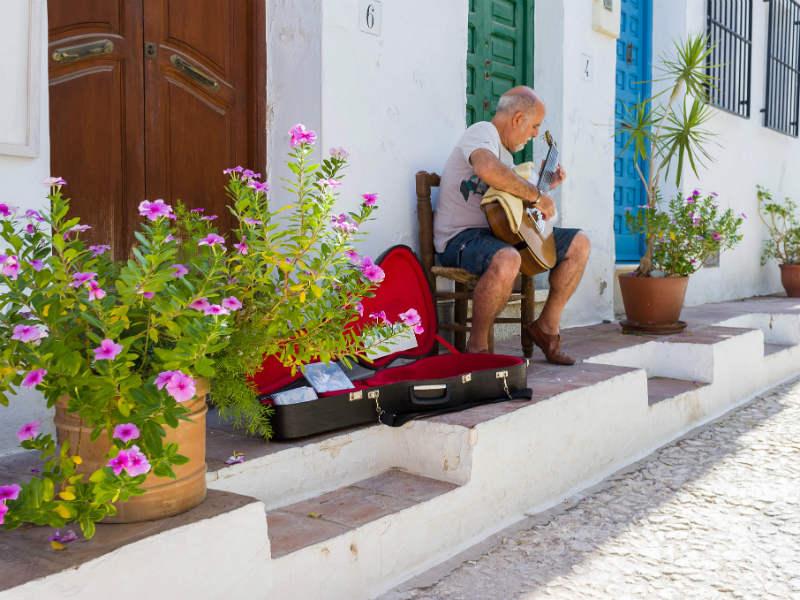 Spain most beautifull towns Frigiliana
