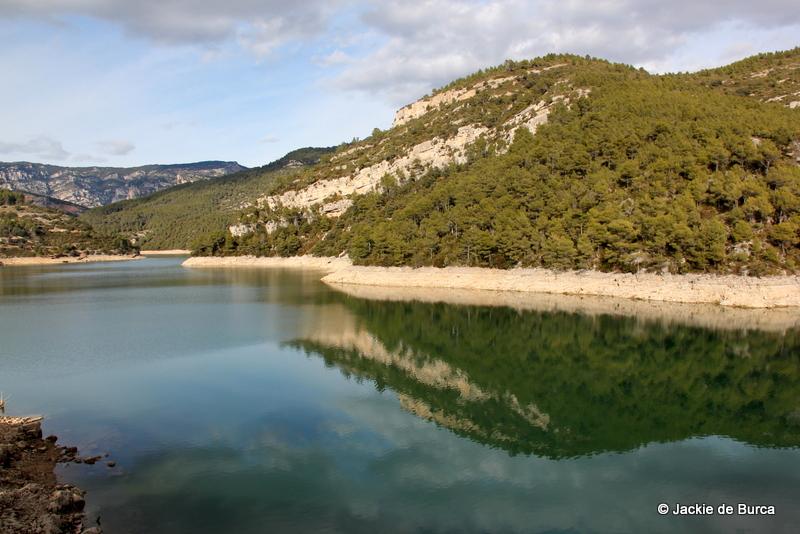 Ulldecona Dam - Pantà d'Ulldecona or Embassament d'Ulldecona