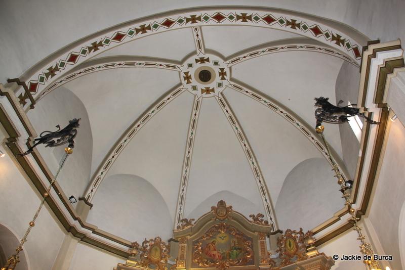 Ulldecona Hermitage Interior Ceiling