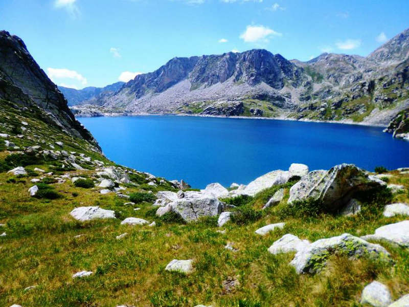 aiguestortes Pyrenees Catalonia mountain adventure tourism