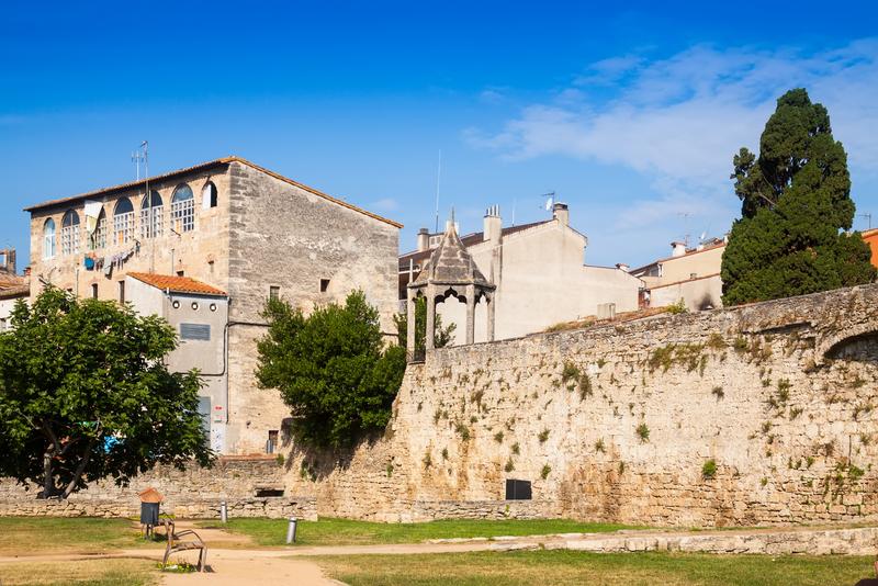 Banyoles Town Girona Spain