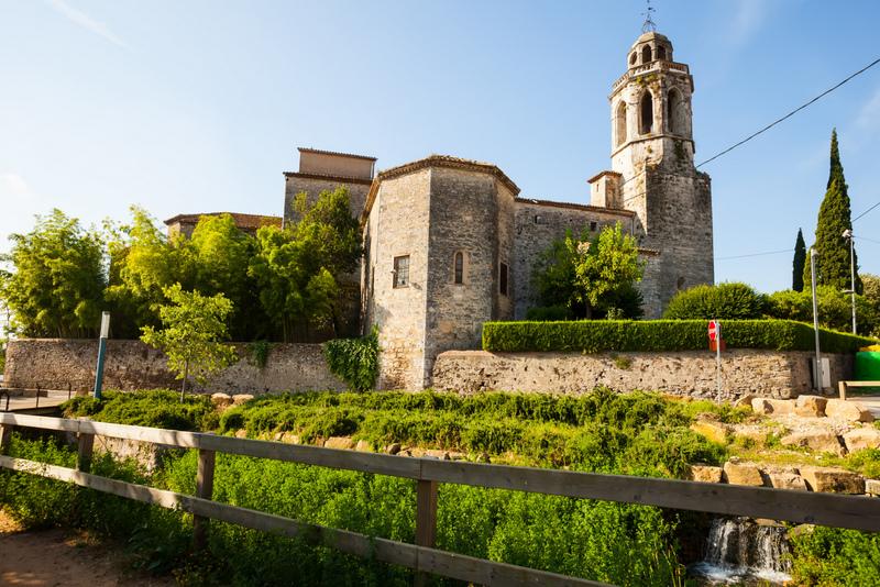 Banyoles Town Girona