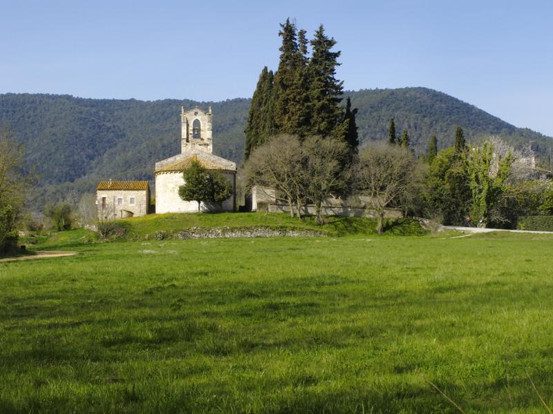 Church of Santa Maria de Porqueres 12th century