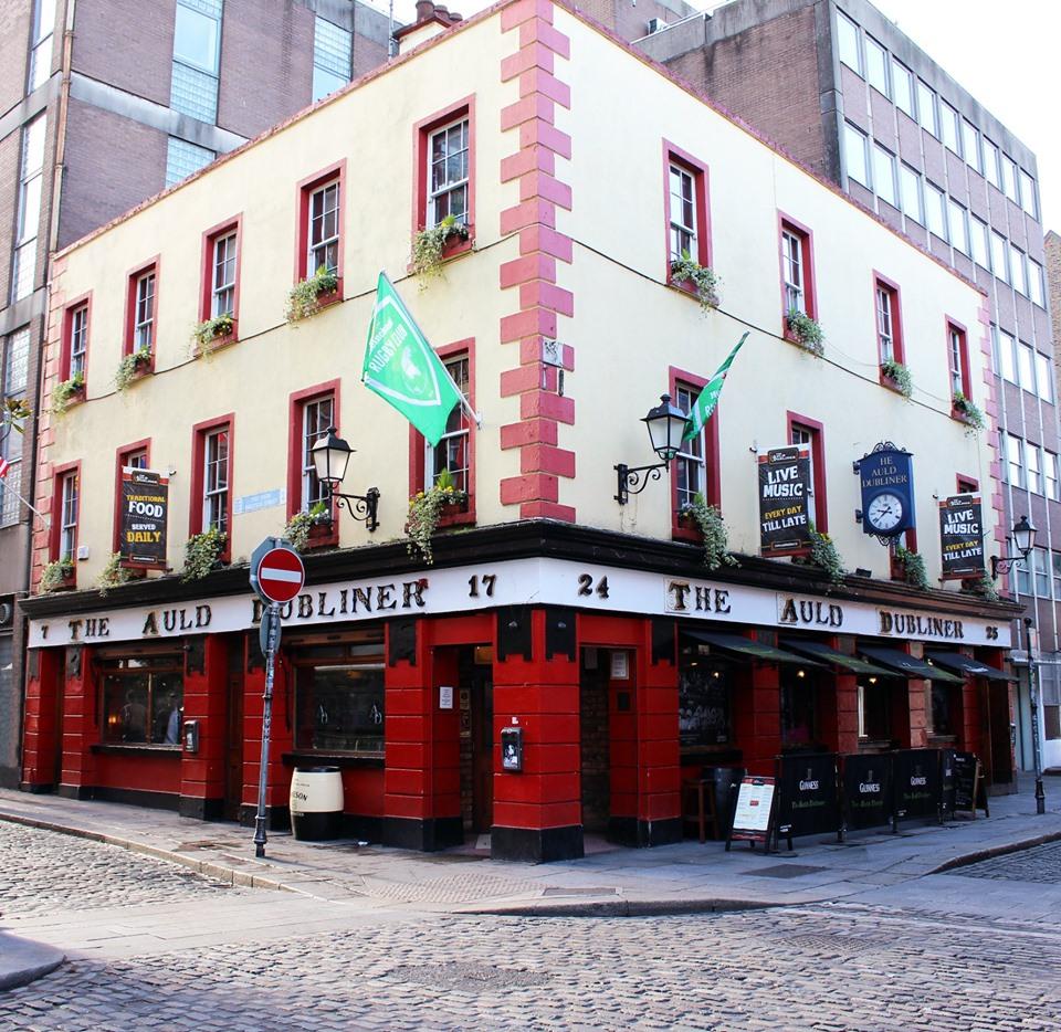 Dublin live music pubs The Auld Dubliner