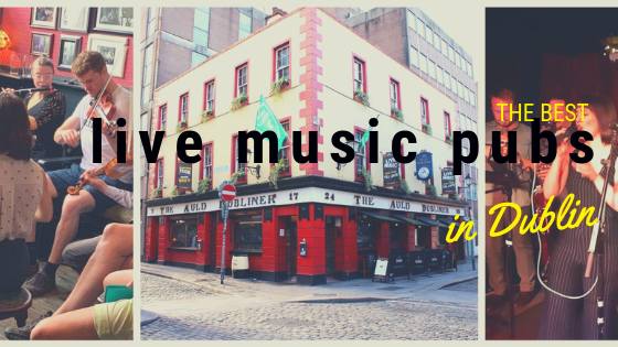 Dublin live music pubs
