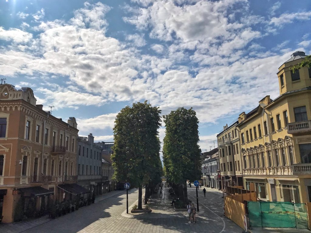 Kaunas Lithuania things to see Avenue of Freedom