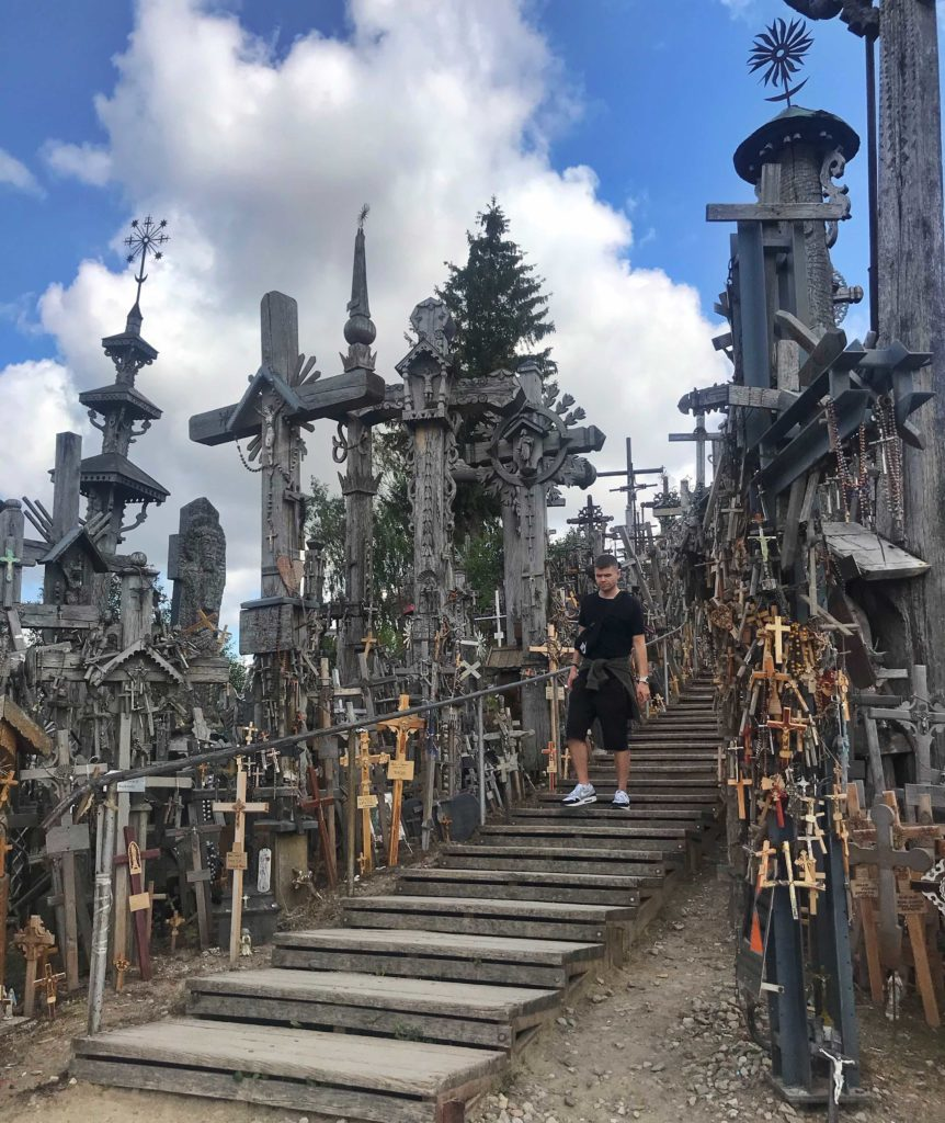 Kaunas sightseeing Hill of Crosses