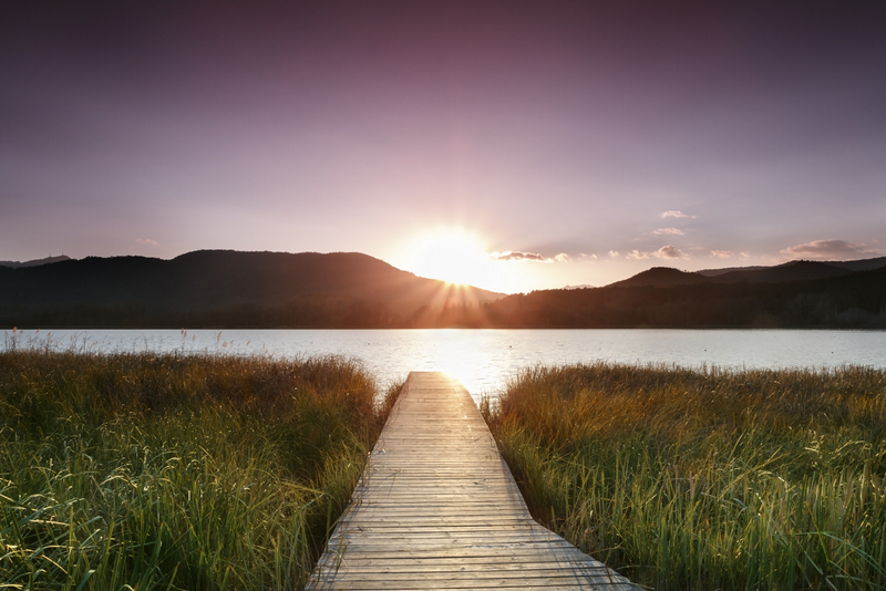 Lake Banyoles Girona