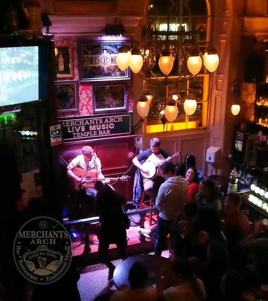 best Dublin music pubs the Merchants Arch Bar