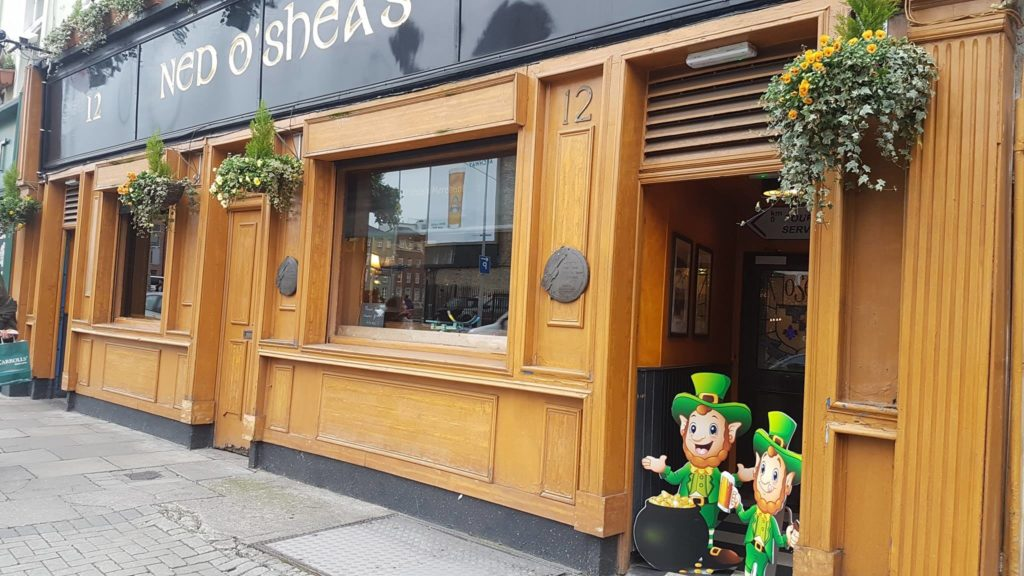 live music pubs Dublin Ned O'Sheas