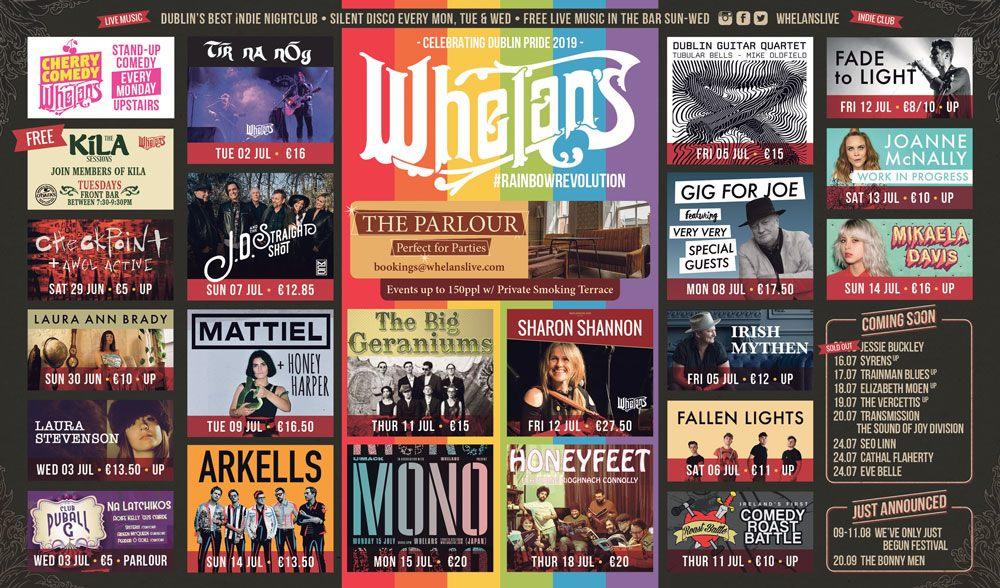 live music pubs Dublin Whelans