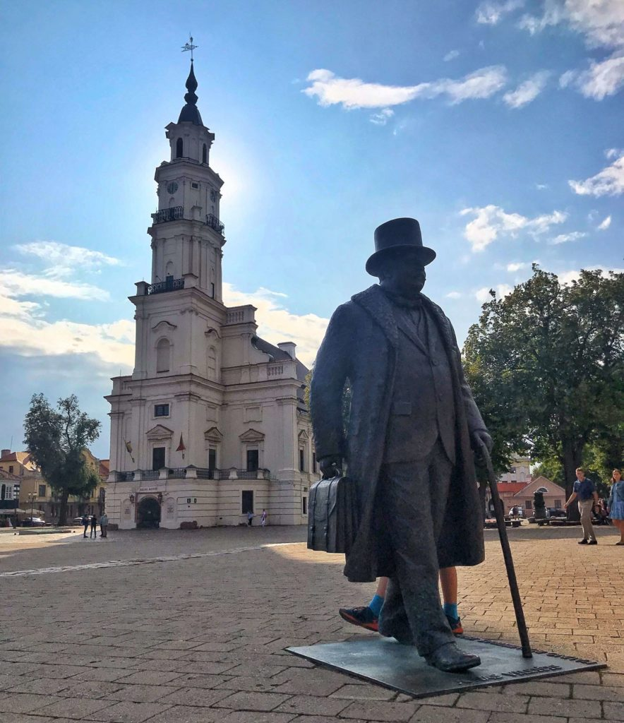 what to do in Kaunas Lithuania town hall