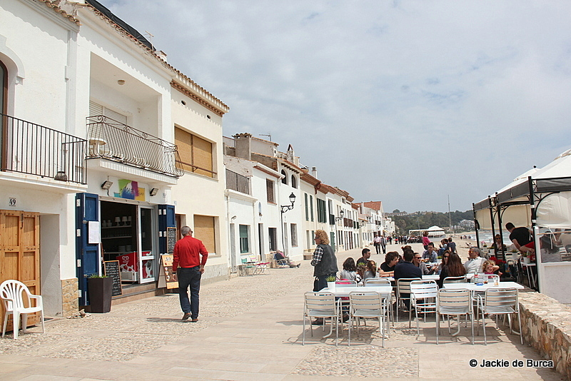 Altafulla Spain promenade