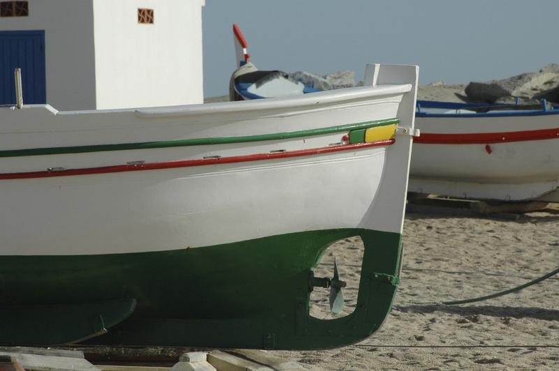 Altafulla fishing boats Tarragona