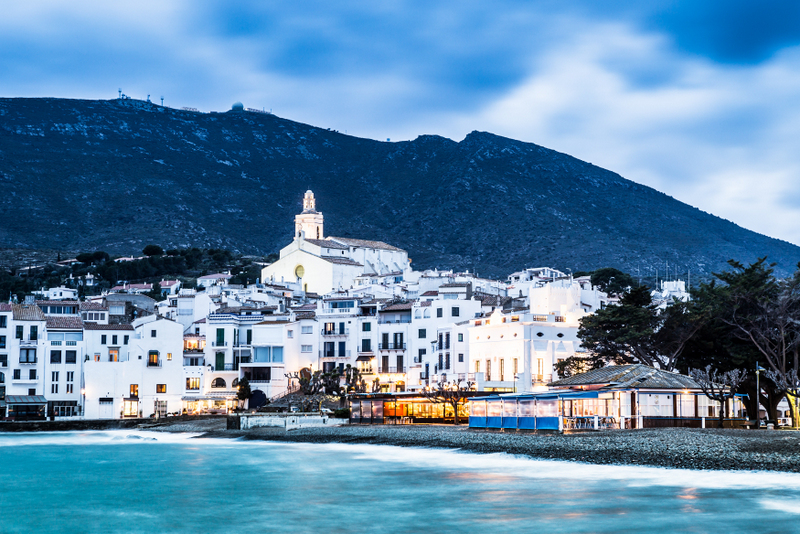 Cadaques Night Views Costa Brava