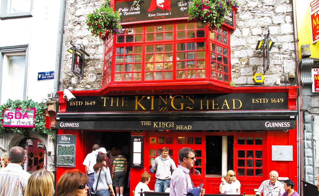 Galway Whiskey Route Kings Head