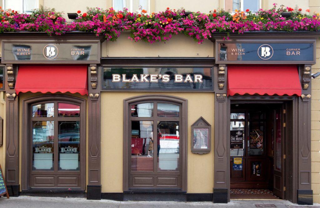 Galway Whiskey Trail Blakes Bar