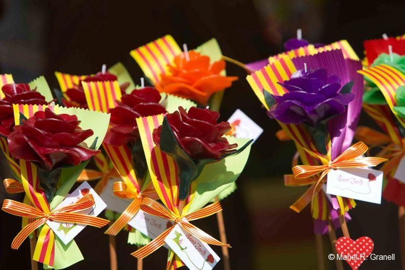 Sant Jordi (St. George's Day) Tarragona