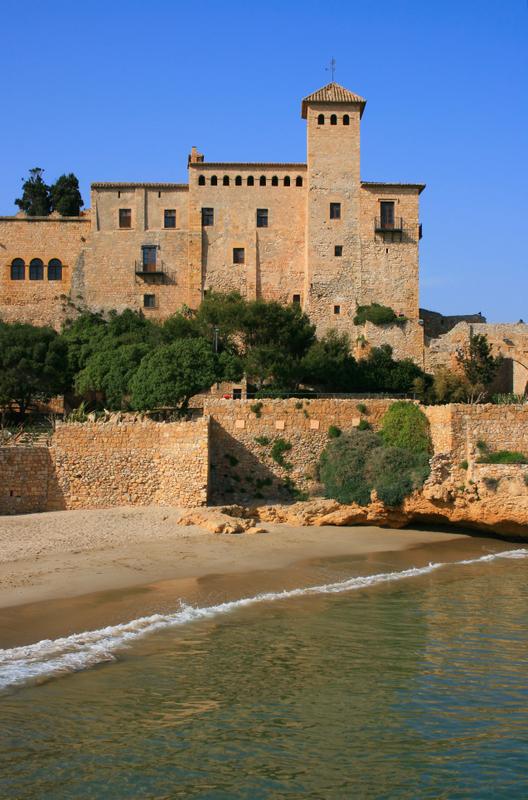 Tamarit Castle Altafulla Tarragona Spain build between 11th and 12th centuries