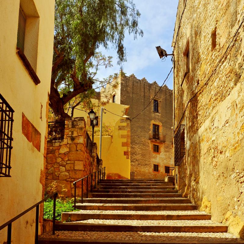old town of Altafulla