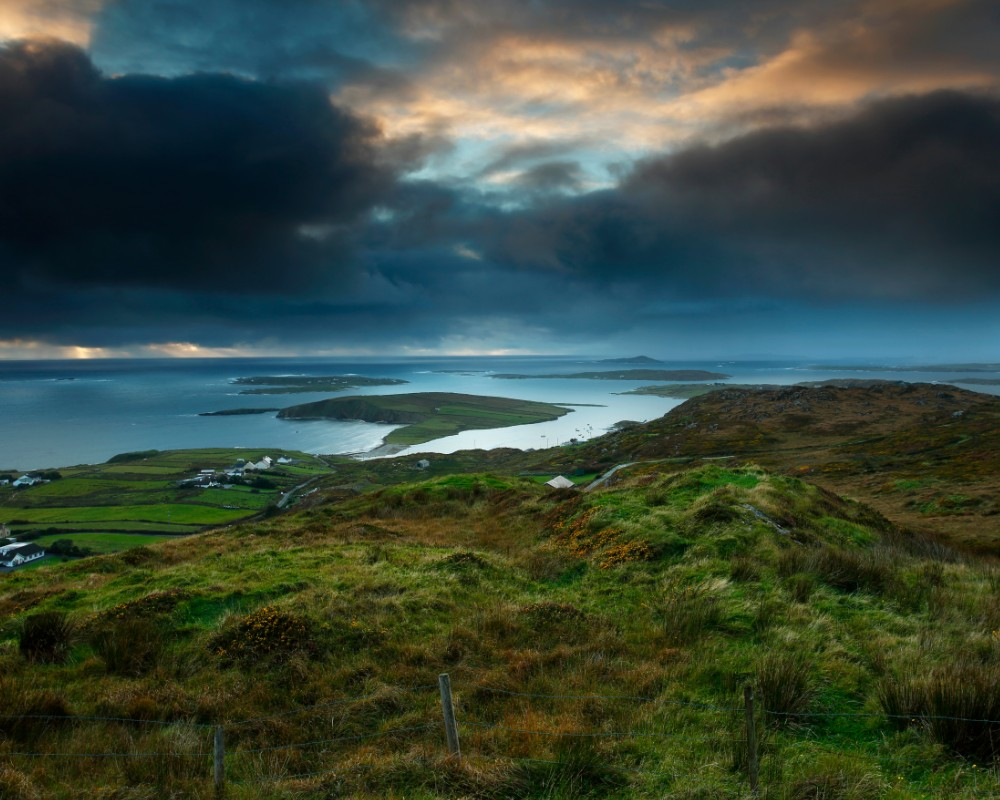 Galway beautiful places The Sky Road Clifden (2)