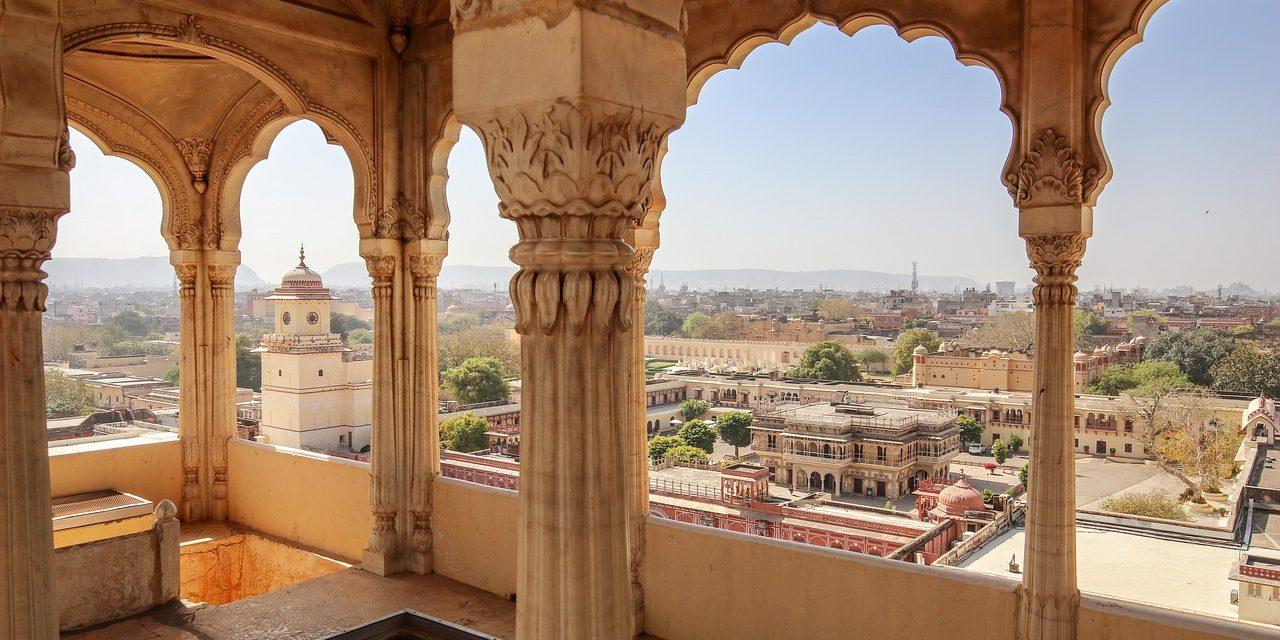 Jaipur India palace views