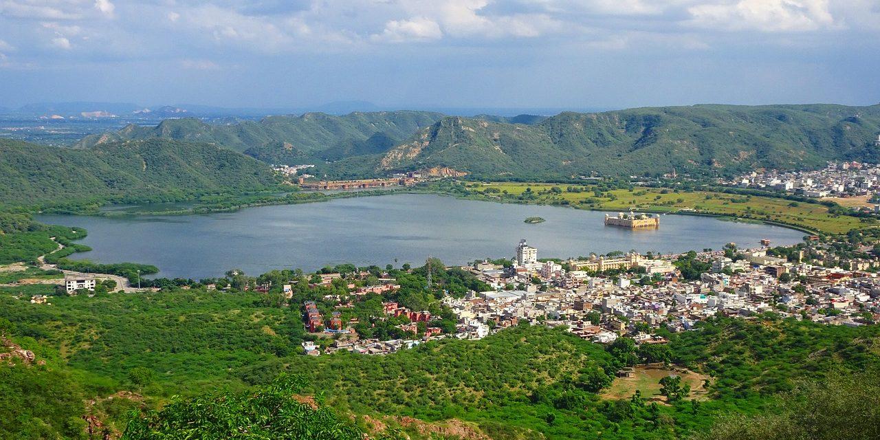 Jaipur landscapes Aravalli Hills