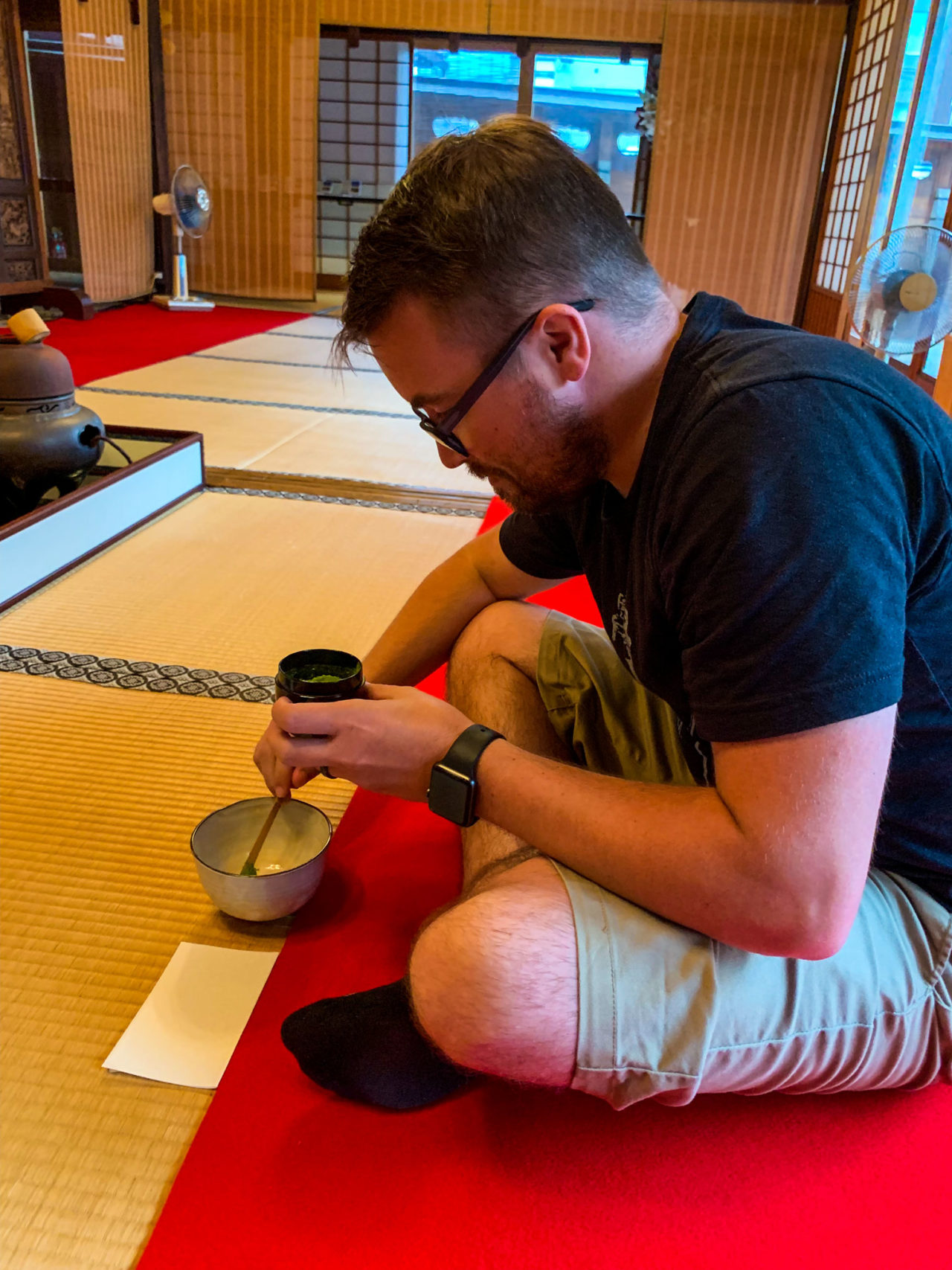 Tea Ceremony Kyoto Japan