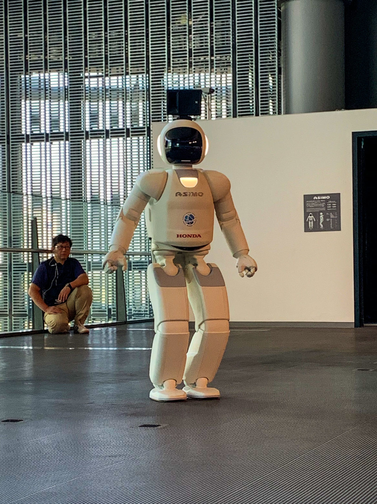 Tokyo Asimo humanoid robot