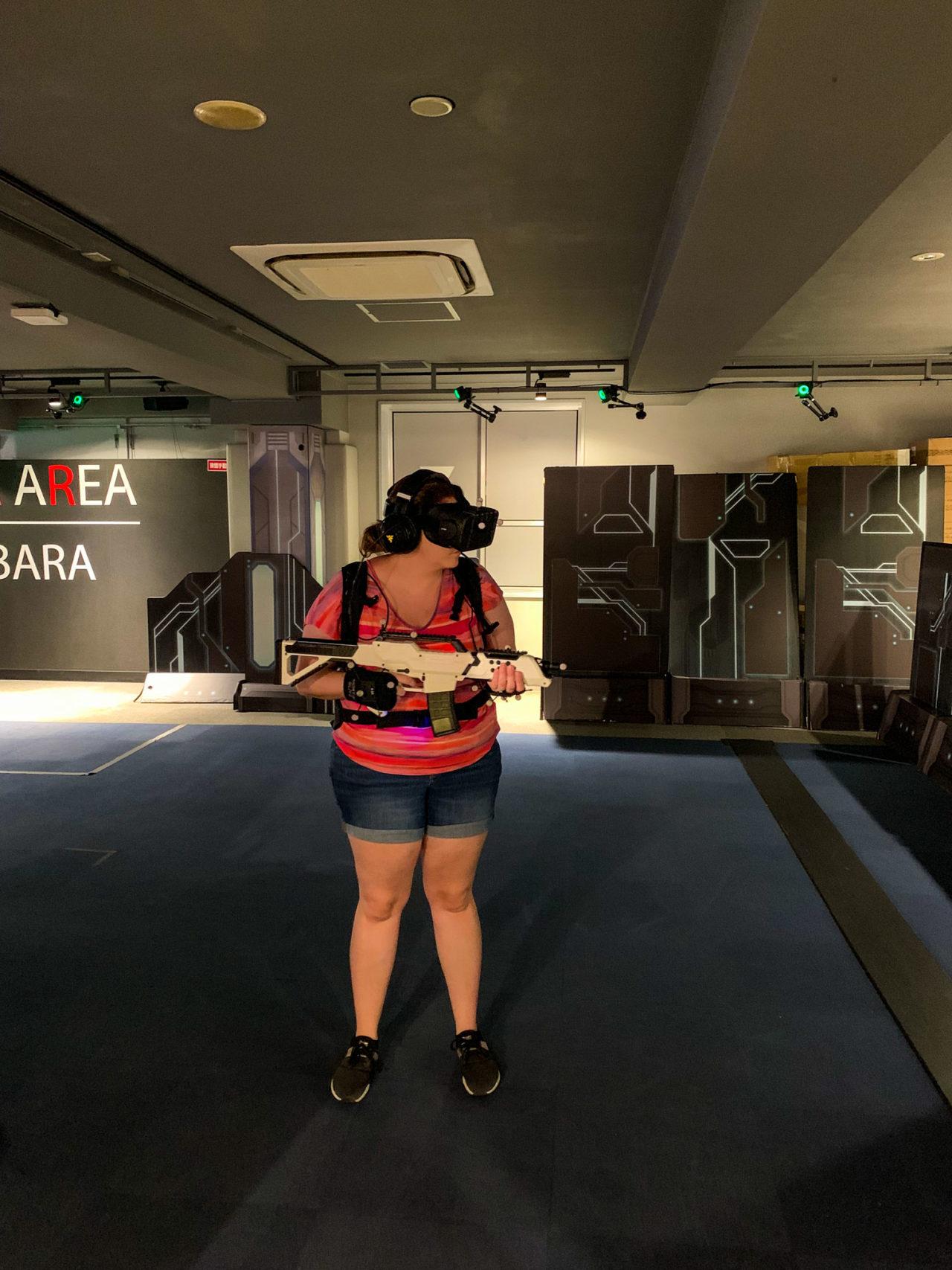 Virtual reality game Tokyo