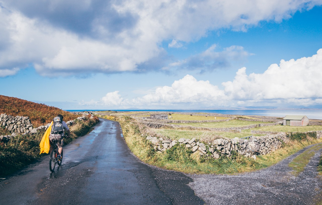outdoor activities Galway cycling in Aran Islands