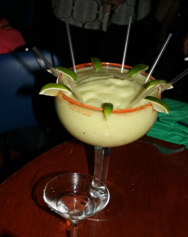 san antonio restaurants-Aldaco's avocado margarita