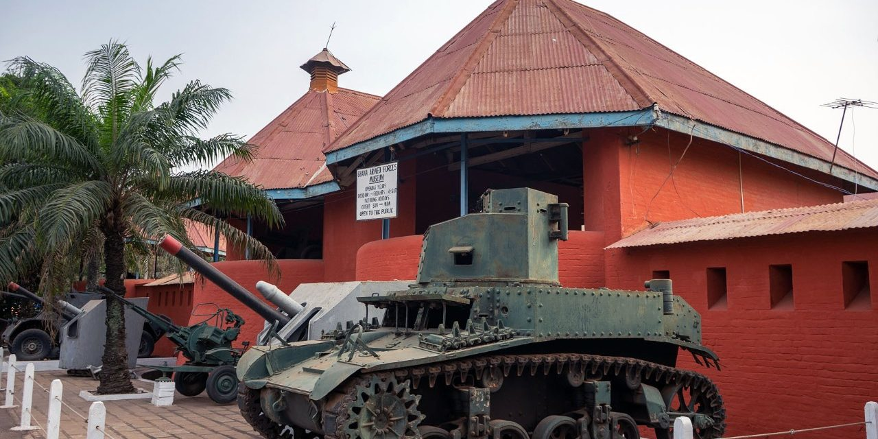Fort Kumasi and the Armed Forces Museum