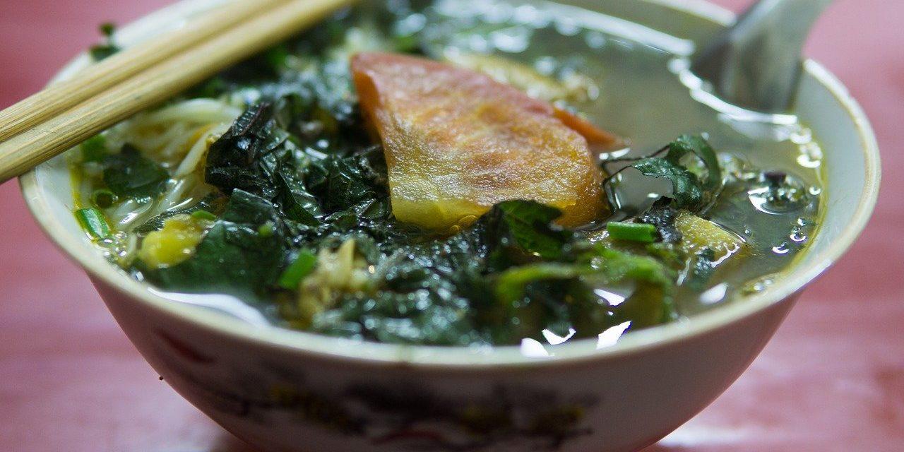 Hanoi Bun Oc Dish