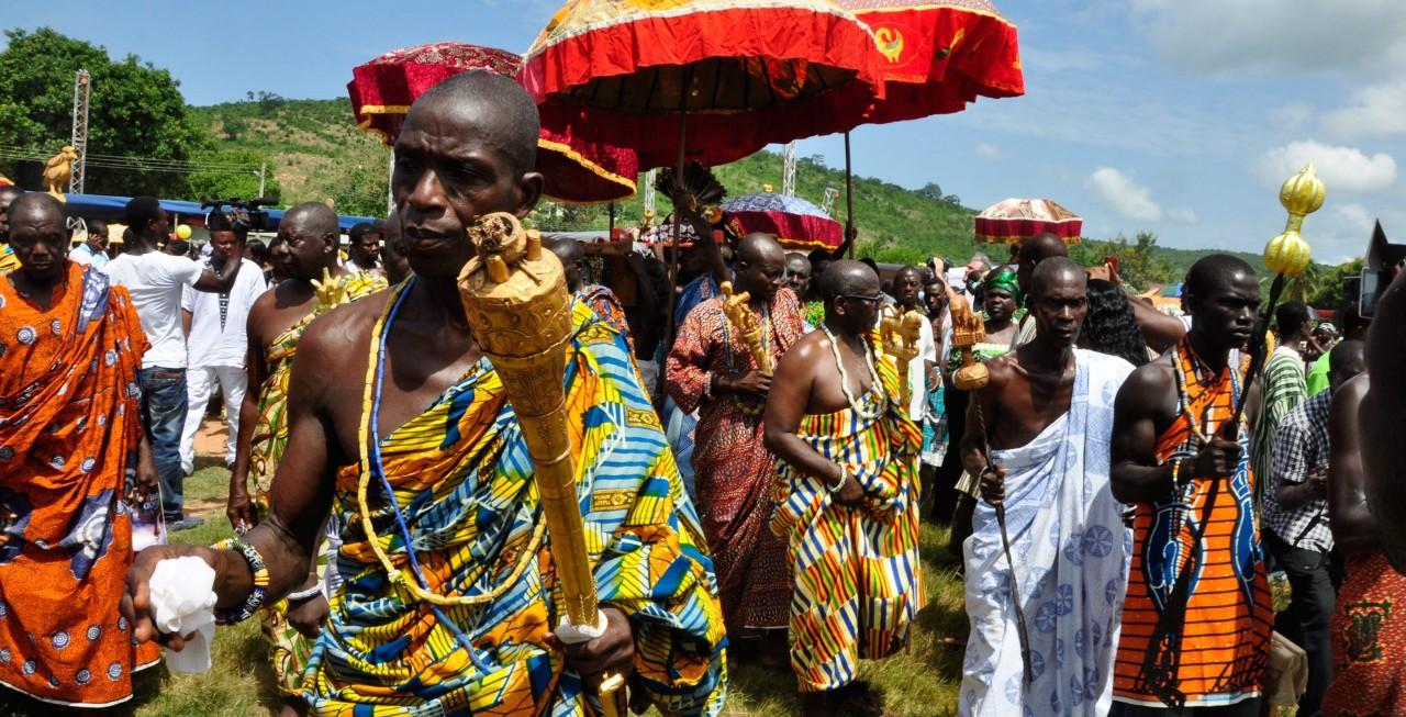 Kumas Ghana Ashanti king