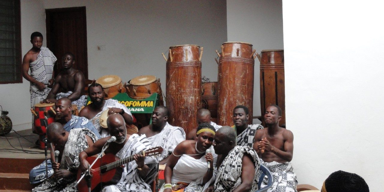 Kumasi Ashanti performance of the palm wine music