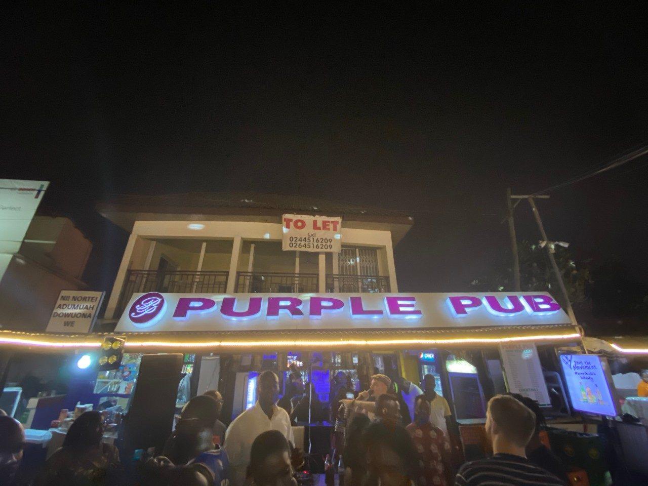 Purple-Pub-Accra Ghana