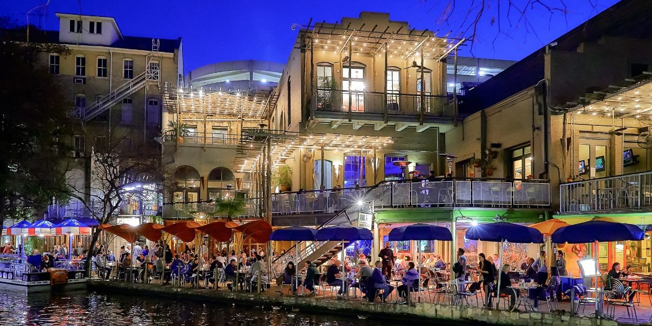 San Antonio Texas Villita neighbourhood