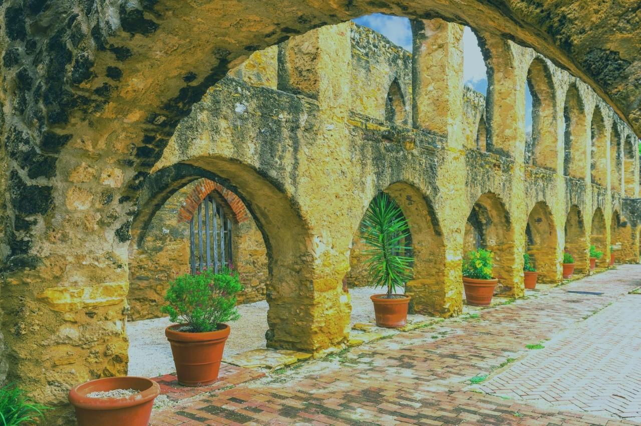 San Antonio Texas mission trail san juan capistrano