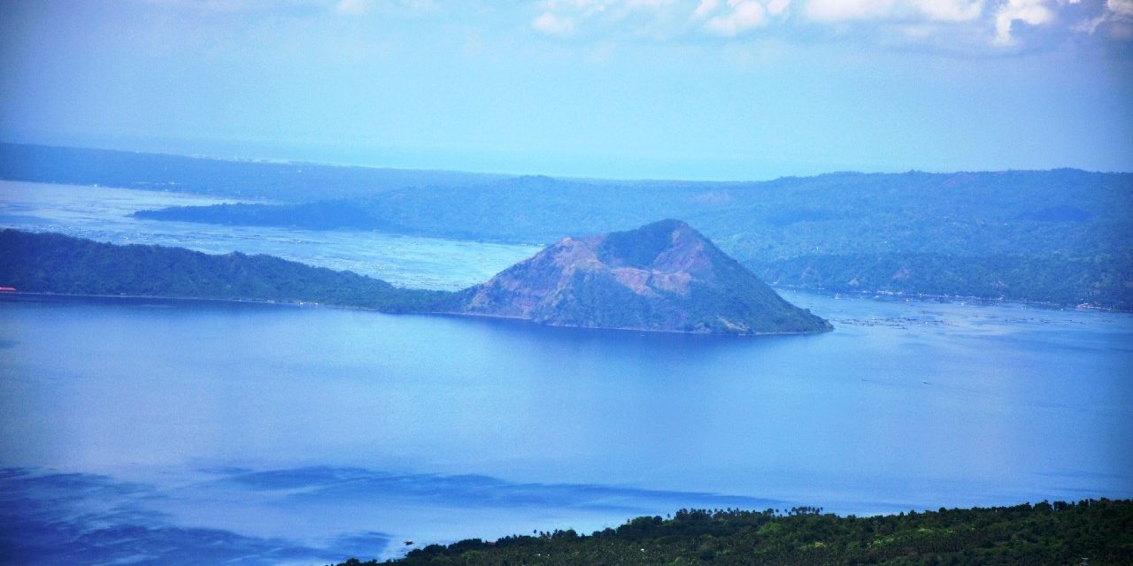 Tagaytay Philippines Taal Lake and Volcano