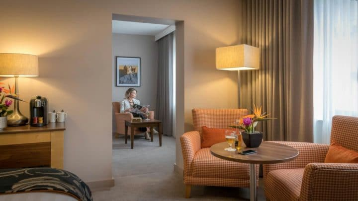 Clayton Hotel Belfast suite