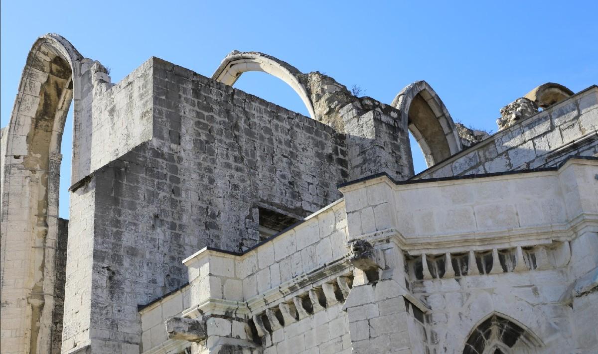 Convento da Ordem do Carmo Lisbon Portugal