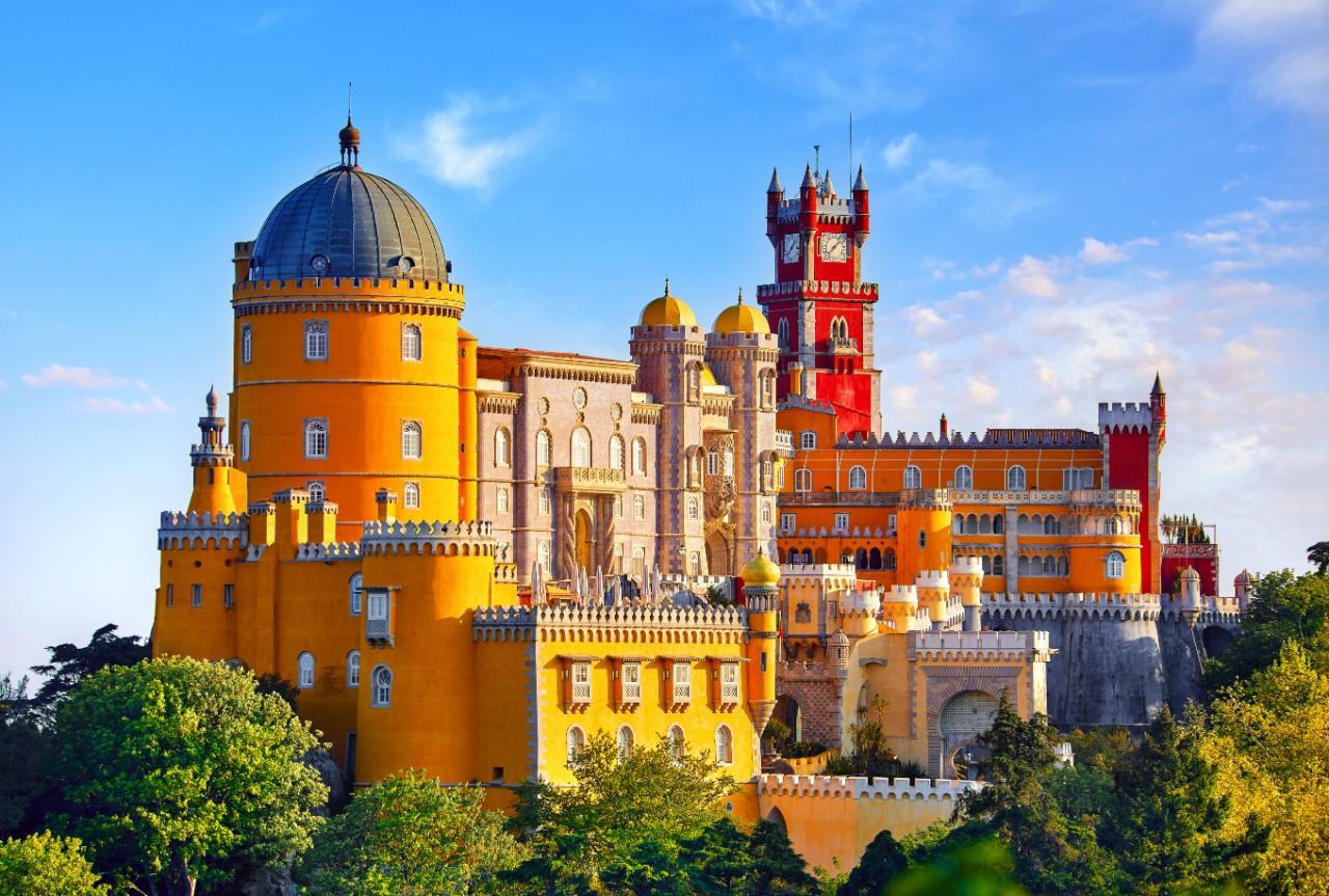 Lisbon Architecture Guide Pena Castle Sintra