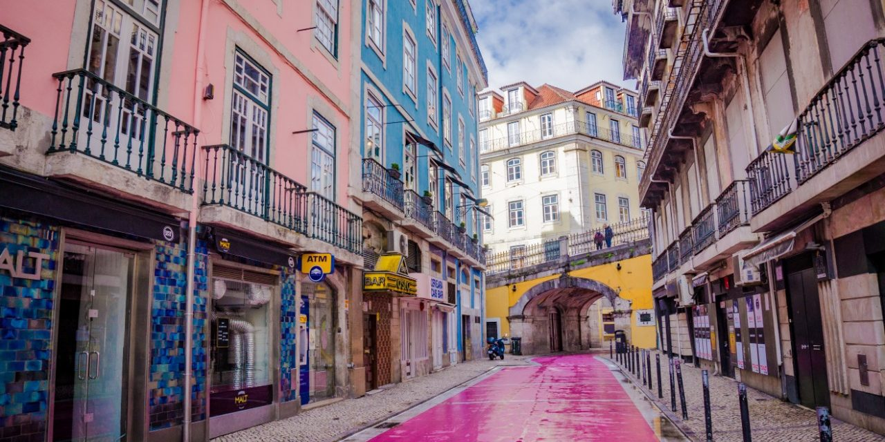 Lisbon Portugal Travel guide Pink Street