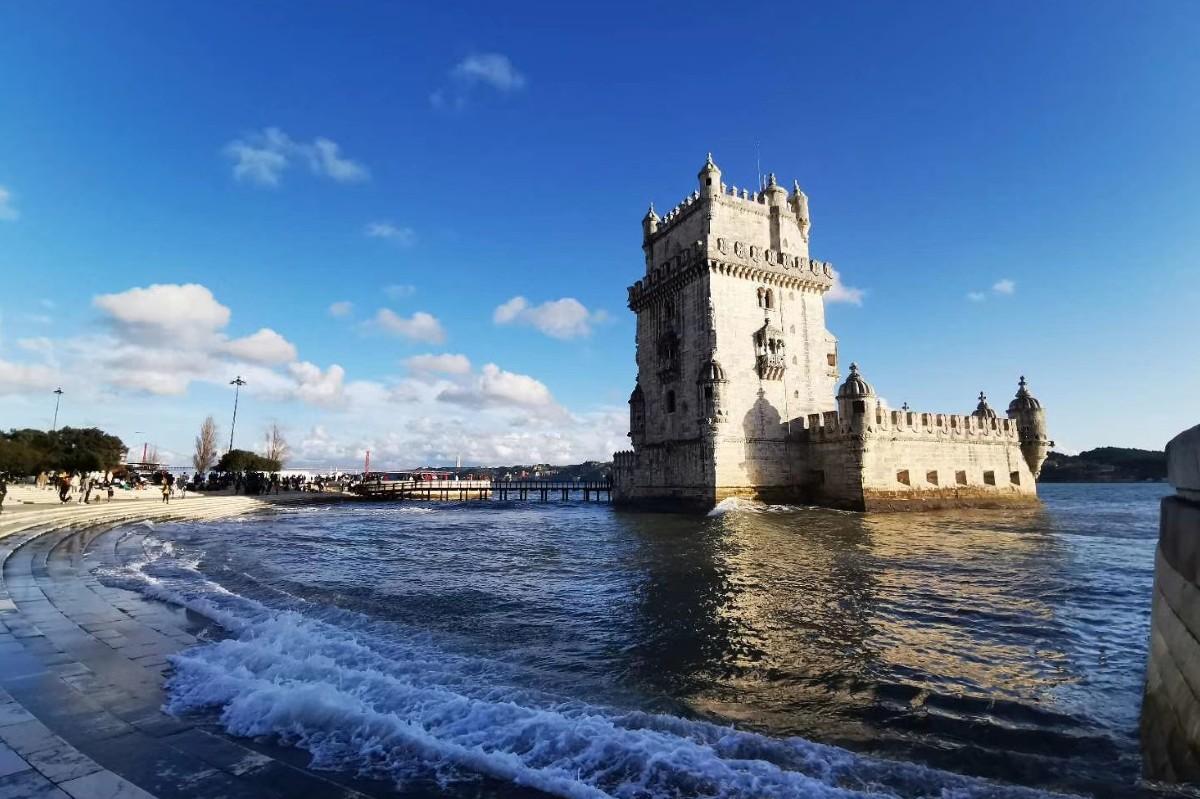 Lisbon after earthquake Belem Tower